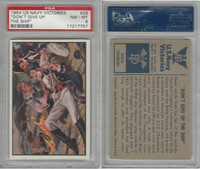 """1954 Bowman, US Navy Victories, #29 """"Don''t Give Up the Ship"""", PSA 8 NMMT"""