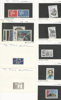 France, Postage Stamp, #1005//3220 Mint NH, 1149-53 Hinged, 1961-2006, JFZ