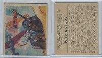 R1 Goudey, Action Gum, 1938, #13 Pursuit Planes Dogfight