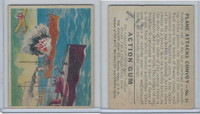 R1 Goudey, Action Gum, 1938, #15 Plane Attacks Convoy