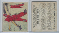 R1 Goudey, Action Gum, 1938, #19 Pursuit Plane Victory