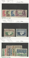 Southern Rhodesia, Postage Stamp, #33-36, 37-A, 56-63 Mint & Used, JFZ