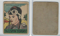 R28 Strip Card, Cartoon Adventures, 1936, #401 Tailspin Tommy (B)
