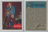 1956 Bubbles Inc, Elvis Presley, #11 Don't Be Cruel (B)