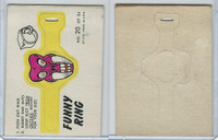1966 Topps, Funny Rings, #20 Demon Monster