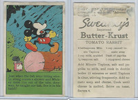 D97-2 Sweaney's Bread, Mickey Mouse Recipes, 1930's, Just When The Fish
