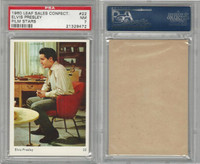 1960 Leaf Sales Confect., Film Stars, #22 Elvis Presley, PSA 7 NM
