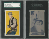 1960 Marusan, Western Stars, Yellow, Anthony Perkins, SGC 84 NM