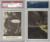 1965 Donruss, King Kong, #29 Just Don't Tickle My Toes!, PSA 9 Mint