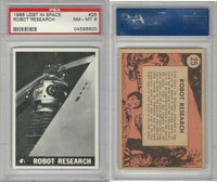 1966 Topps, Lost In Space, #25 Robot Research, PSA 8 NMMT