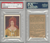 FC26-1 Shredded Wheat, Kings England, 1953, #19 Queen Anne, PSA 8 NMMT