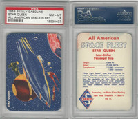 UO67 Skelly Gasoline, All American Space Fleet, 1953, Star Queen, PSA 8 NMMT