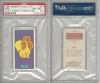 B0-0 Barratt, Walt Disney Characters, 1957, #14 Peg Dog, PSA 8.5 NMMT+