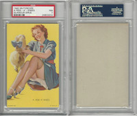 W424-2d Mutoscope, Glorified Glamour Girls, 1940, A Peek-A'-Knees, PSA 7 NM