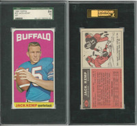 1965 Topps Football, #35 Jack Kemp SP, Buffalo Bills, SGC 84 NM