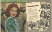 F5-17 Dixie Cup, Premium, 1951, Movie Stars, Rhoda Fleming