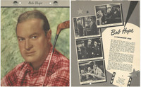 F5-19 Dixie Cup, Premium, 1953, Movie Stars, Bob Hope, Golf