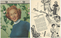 F5-19 Dixie Cup, Premium, 1953, Movie Stars, Piper Laurie