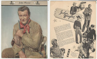 F5-19 Dixie Cup, Premium, 1953, Movie Stars, John Wayne