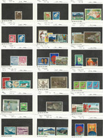 Japan, Postage Stamp, #888//979 Mint NH & LH, 1966-68