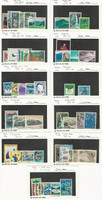 Japan, Postage Stamp, #1106//1162 Mint NH & LH, 1972-74