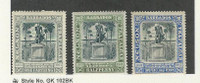 Barbados, Postage Stamp, #102-103, 106 Mint Hinged, 1906, JFZ