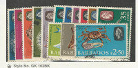 Barbados, Postage Stamp, #267-280 Used, 1965 Fish, JFZ