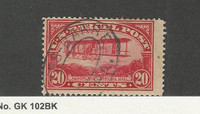 United States, Postage Stamp, #Q8 Used, 1913 Airplane, JFZ