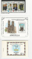 Anguilla, Postage Stamp, #639 Booklet, 683-687 Mint NH, 1985-86 Royalty, JFZ
