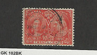 Canada, Postage Stamp, #59 VF Used Nice Cancel, 1897, JFZ