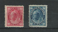 Canada, Postage Stamp, #69-70 Mint Hinged, 1897-98, JFZ