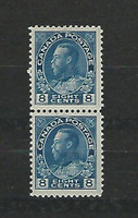 Canada, Postage Stamp, #115 Pair Mint NH, 1925, JFZ