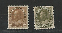 Canada, Postage Stamp, #118-119 Mint Hinged, 1925, JFZ