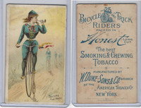 N100 Duke, Bicycle & Trick Riders, 1890, Setting The Pace