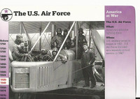 1995 Grolier, Story Of America Card, #31.13 The US Air Force