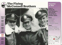 1995 Grolier, Story Of America Card, #119.13 Flying McConnell Brothers