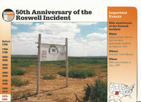 1995 Grolier, Story Of America Card, #121.06 Roswell Incident
