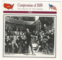 1995 Atlas, Civil War Cards, #11.01 Compromise of 1850, Henry Clay