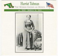 1995 Atlas, Civil War Cards, #11.18 Harriet Tubman
