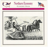 1995 Atlas, Civil War Cards, #12.18 Northern Economy