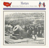 1995 Atlas, Civil War Cards, #13.17 Mortars
