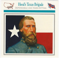 1995 Atlas, Civil War Cards, #16.18 General Hood's Texas Brigade