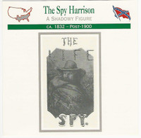 1995 Atlas, Civil War Cards, #17.12 The Spy Harrison