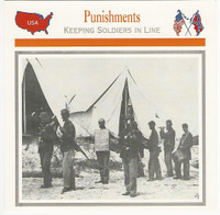 1995 Atlas, Civil War Cards, #17.13 Punishments