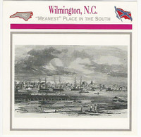 1995 Atlas, Civil War Cards, #42.17 Wilmington, North Carolina