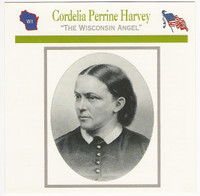 1995 Atlas, Civil War Cards, #43.14 Cordelia Perrine Harvey