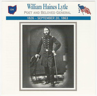 1995 Atlas, Civil War Cards, #106.14 William Haines Lytle, General