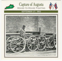 1995 Atlas, Civil War Cards, #111.03 Capture of Augusta, Kentucky