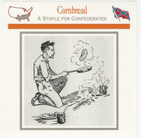 1995 Atlas, Civil War Cards, #112.10 Cornbread