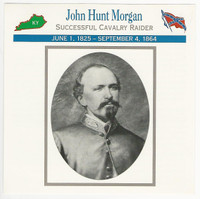 1995 Atlas, Civil War Cards, #118.12 John Hunt Morgan
